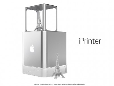 iPrinter imprimanta 3D Apple 1