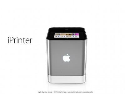 iPrinter imprimanta 3D Apple 2