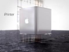 iPrinter imprimanta 3D Apple 3