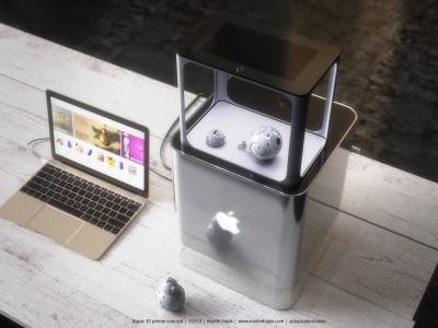 iPrinter imprimanta 3D Apple 4