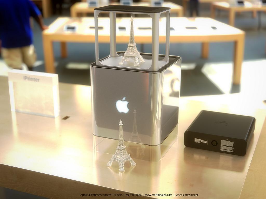 iPrinter imprimanta 3D Apple