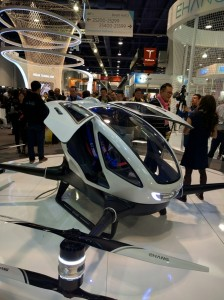 Ehang 184 drona transport persoane