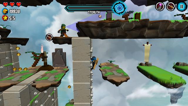 LEGO Ninjago Skybound joc LEGO