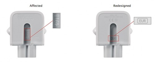 adaptor incatcator electrocutare Apple
