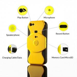 carcasa iphone inregistrare apel telefonic 1