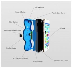 carcasa iphone inregistrare apel telefonic 2