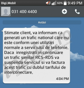 digi mobil mesaj limitare nationala1