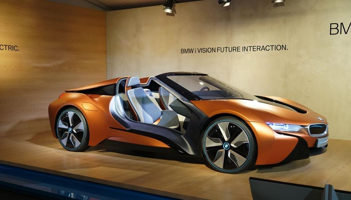i8 Spyder concept