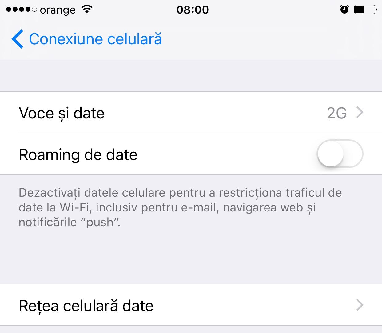 iOS9.3setariconexiunecelulara 1