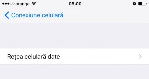 iOS9.3setariconexiunecelulara 2