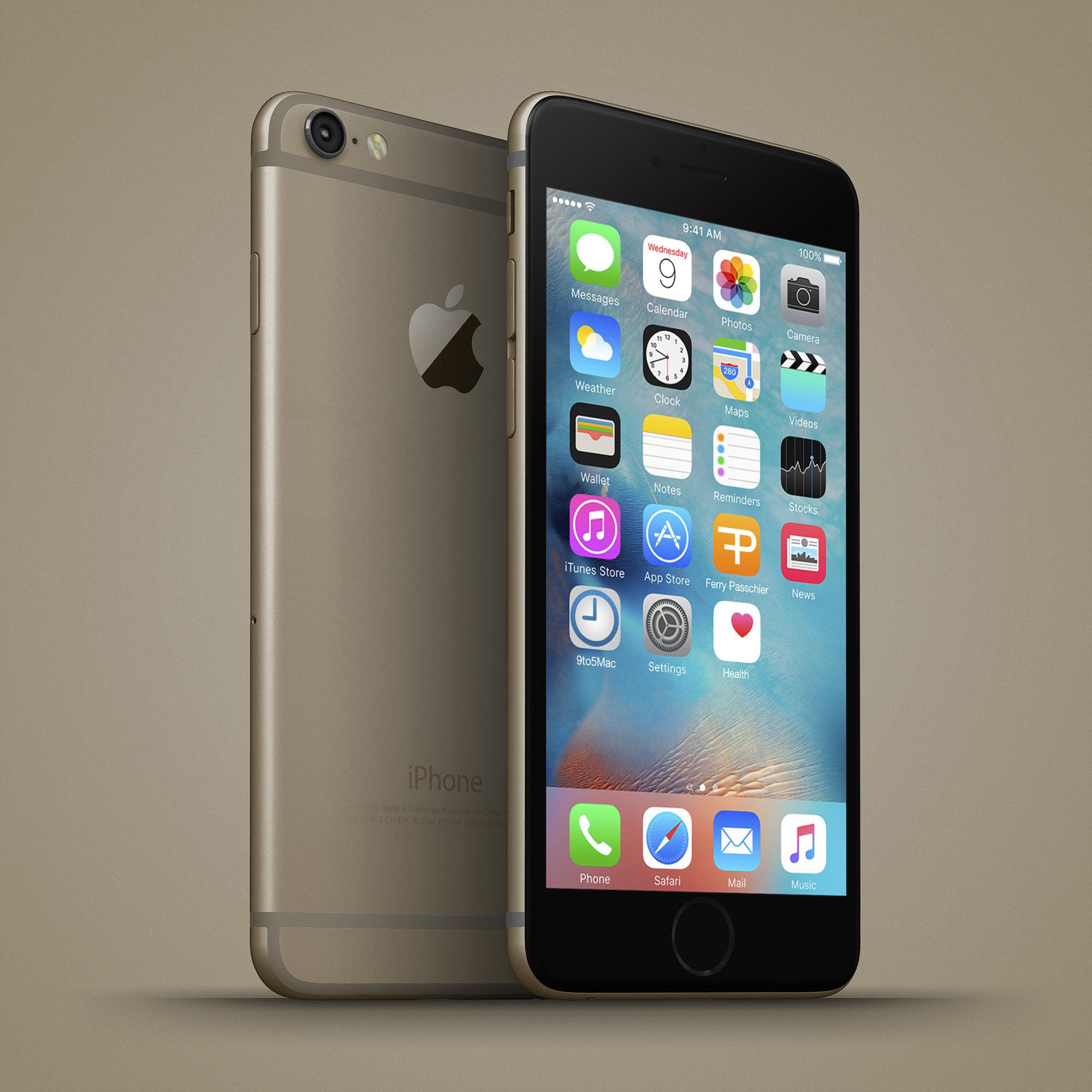 iPhone 6C chip Intel