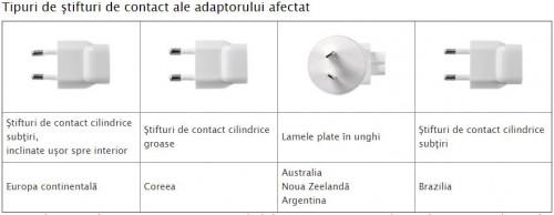 identifica adaptor Apple defect reproiectat 1