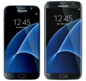 imagini Samsung Galaxy S7 si Galaxy S7 edge
