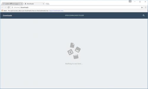 imagini design nou Google Chrome 3