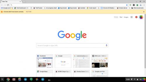 imagini design nou Google Chrome