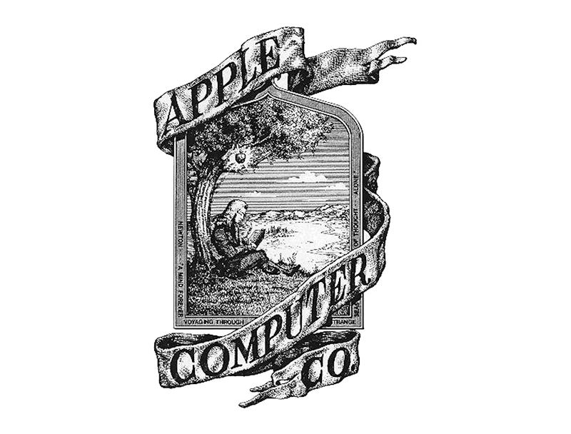 logo original Apple
