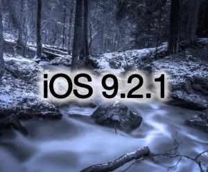 noutatile iOS 9.2.1