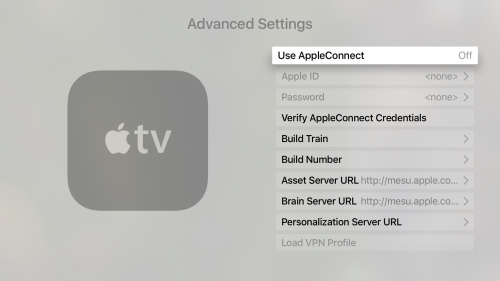 setari secrete Apple TV 4 1