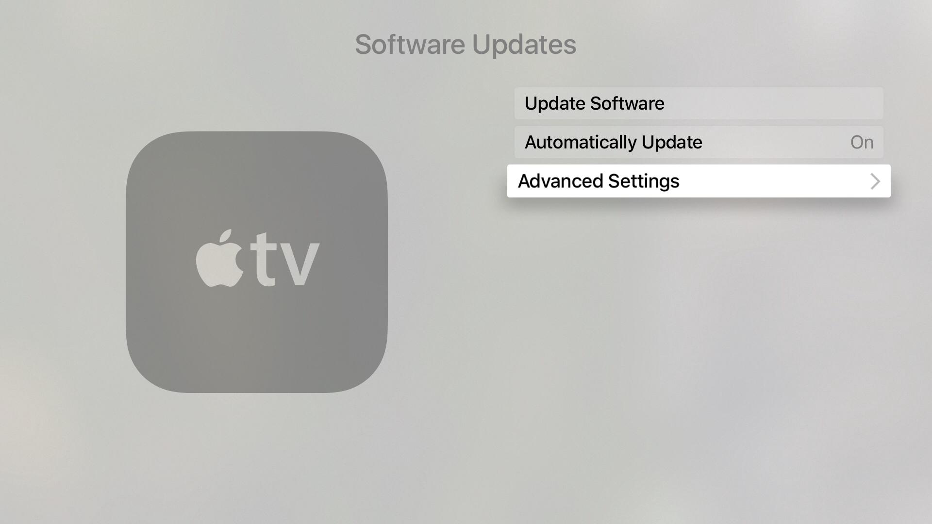 setari secrete Apple TV 4