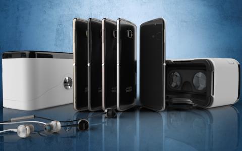 Alcatel OneTouch Idol 4S headset realitate virtuala