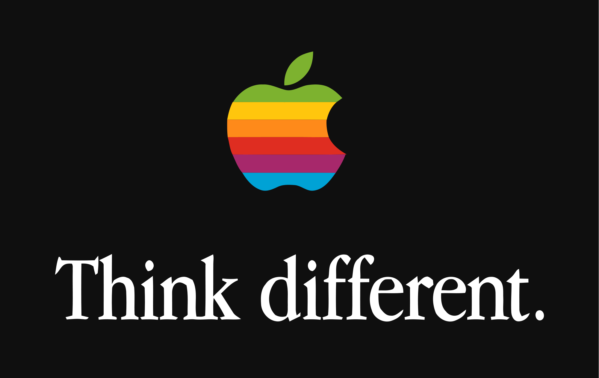 Apple Think Different - iDevice.ro