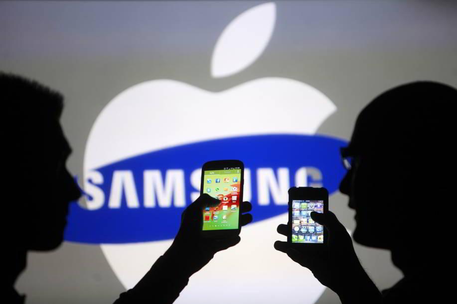 Apple copiat Samsung