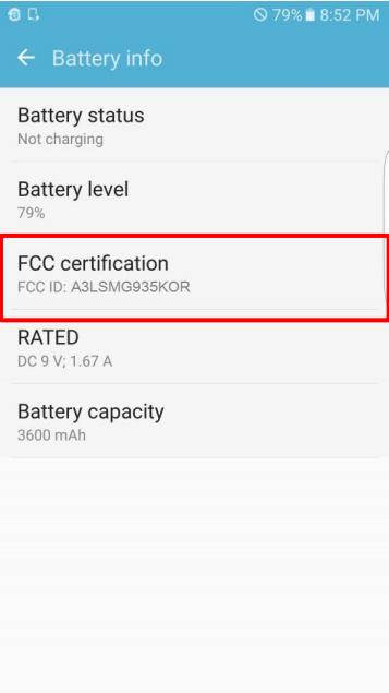 Bateria Samsung Galaxy S7 Edge are 3600 mAh