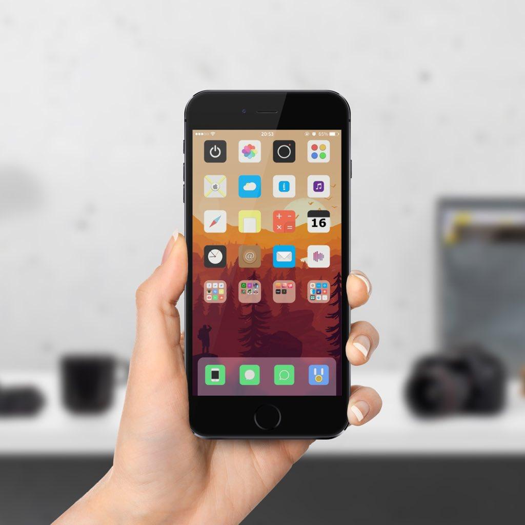 Blanket tema iOS 9 - iDevice.ro