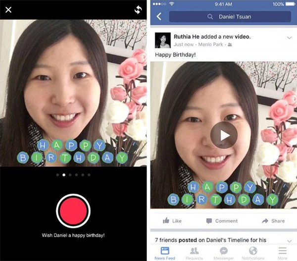 Facebook video La Multi Ani