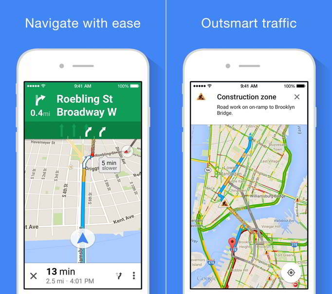Google Maps functie noua