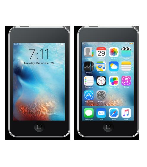 Grayd00r iPhone
