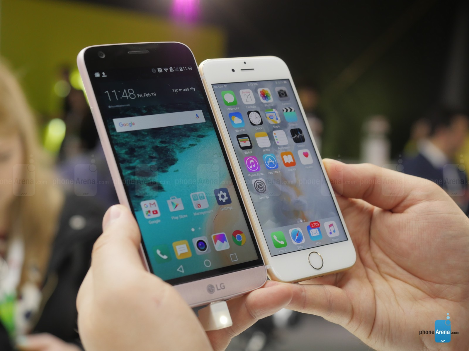 LG G5 vs iPhone 6S 11