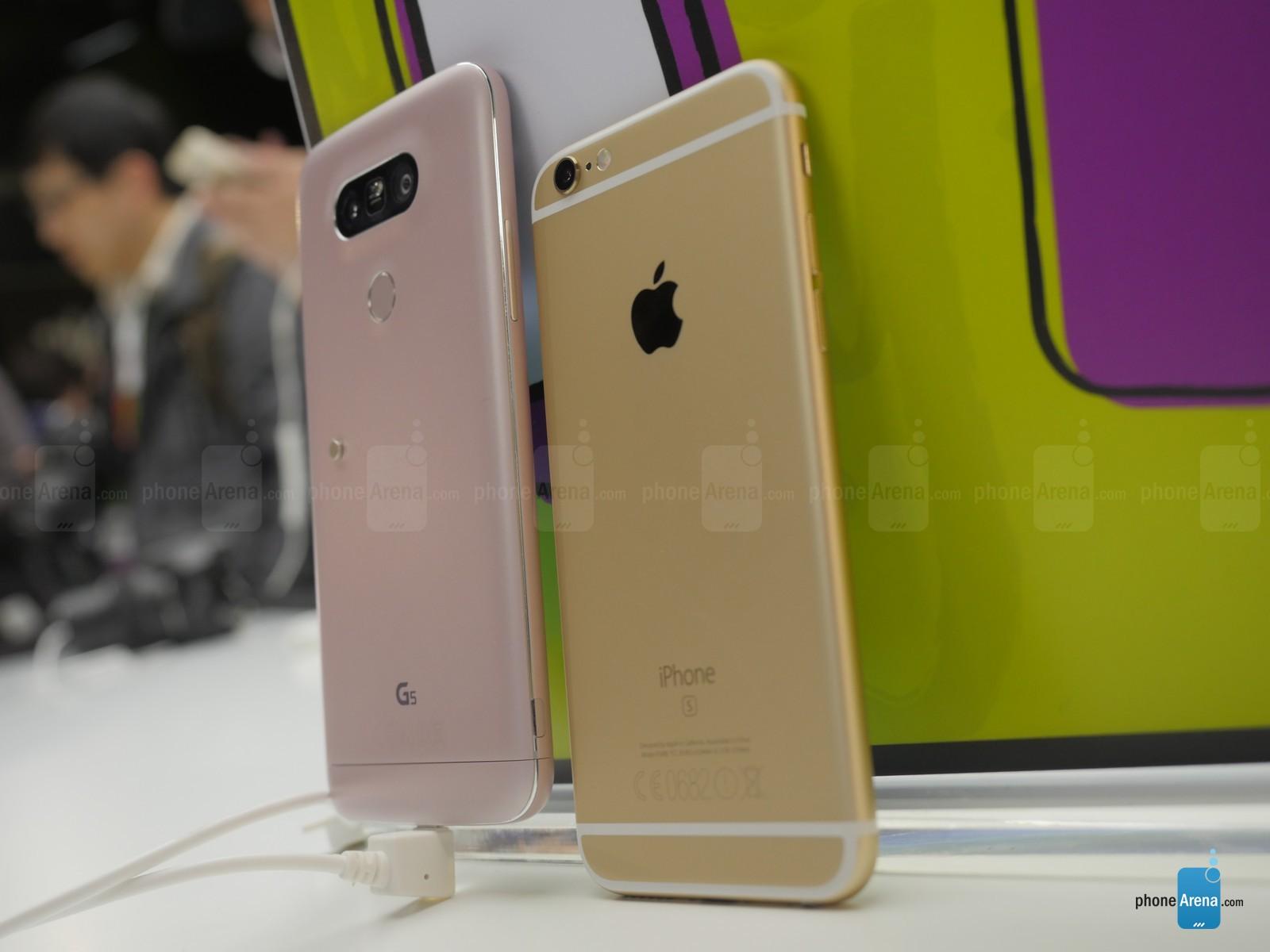 LG G5 vs iPhone 6S 11