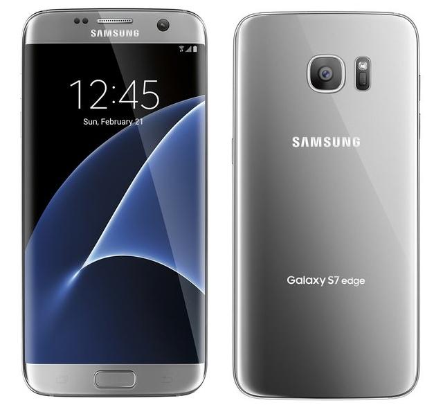 Samsung Galaxy S7 Edge argintiu