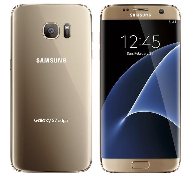 Samsung Galaxy S7 Edge auriu