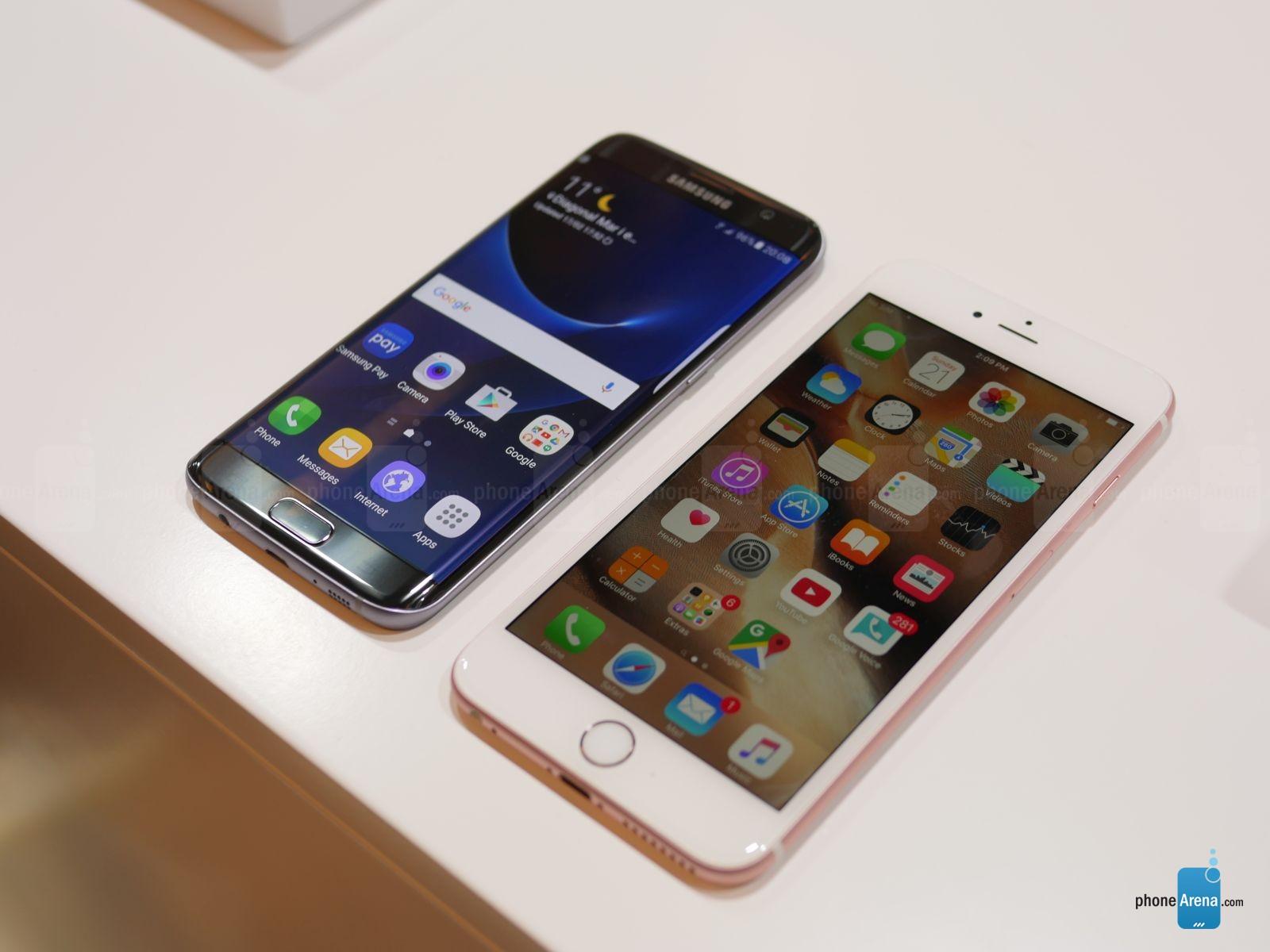 Samsung Galaxy S7 Edge vs iPhone 6S Plus – comparatie detaliata | iDevice.ro