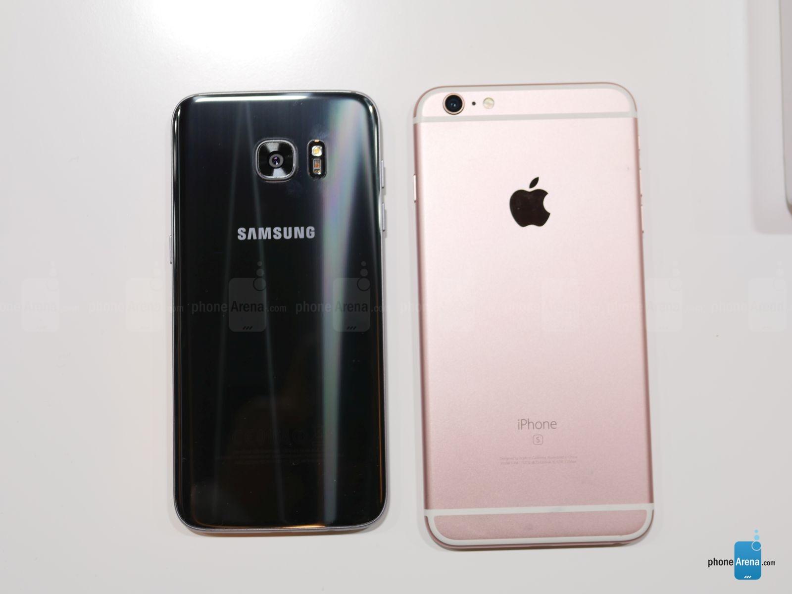 Samsung Galaxy S7 Edge vs iPhone 6S Plus – comparatie ...