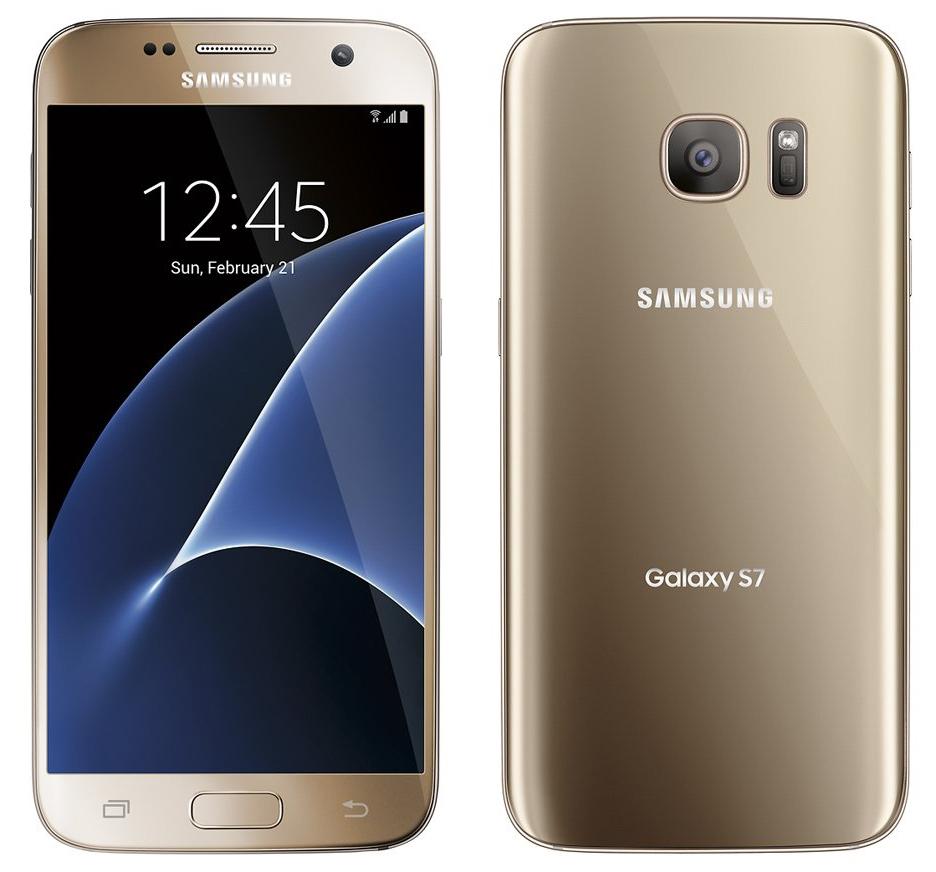 Samsung Galaxy S7 auriu imagini 2