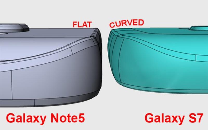 Samsung Galaxy S7 camera exterior carcasa