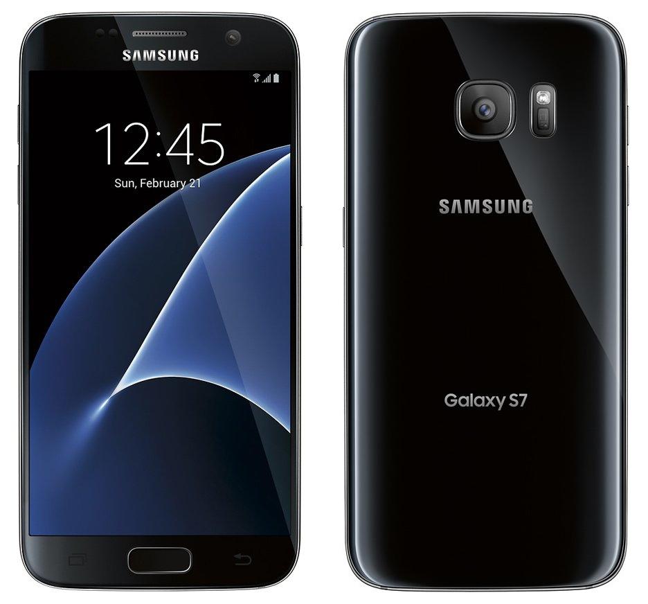 Samsung Galaxy S7 negru-imagini