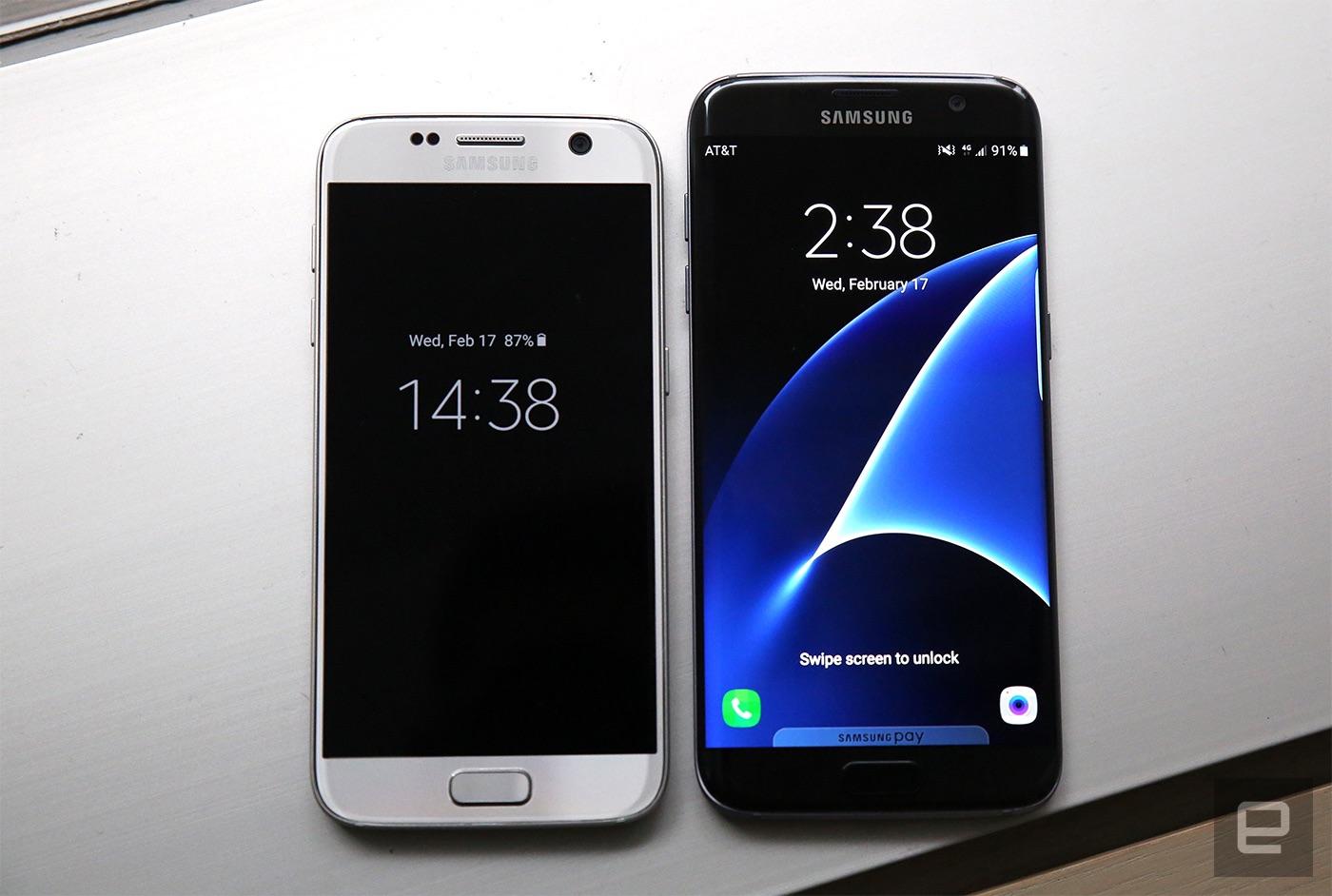Galaxy S7 Edge Wallpapers: Samsung Galaxy S7 Si S7 Edge