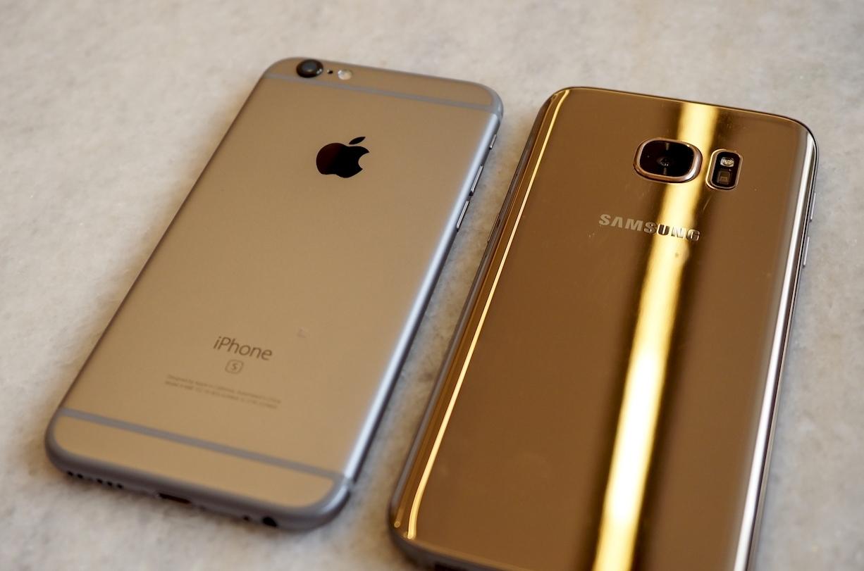Samsung Galaxy S7 vs iPhone 6S camera - iDevice.ro