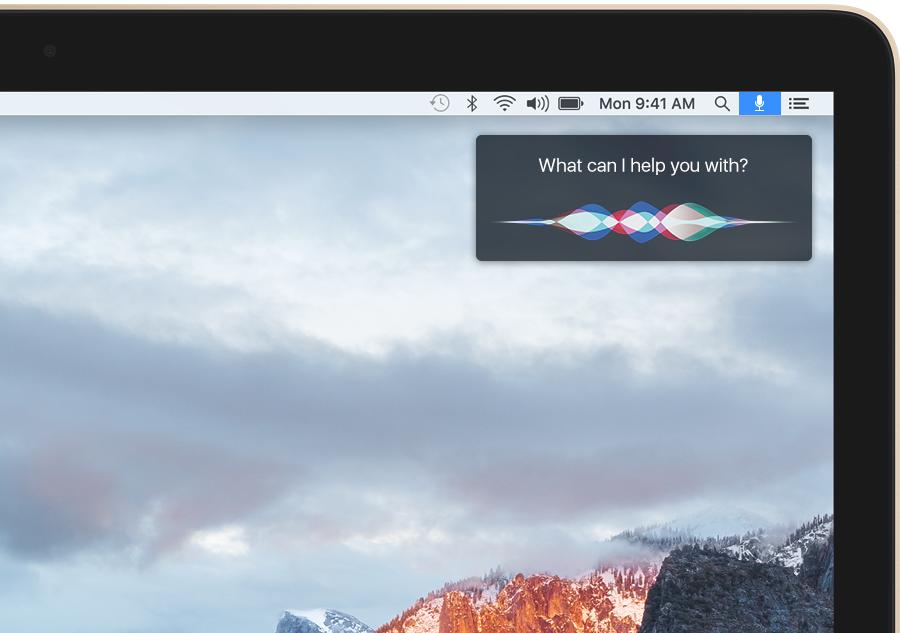 Siri OS X 10.12 - iDevice.ro