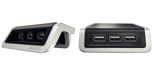 Statia de incarcare cu doua porturi USB