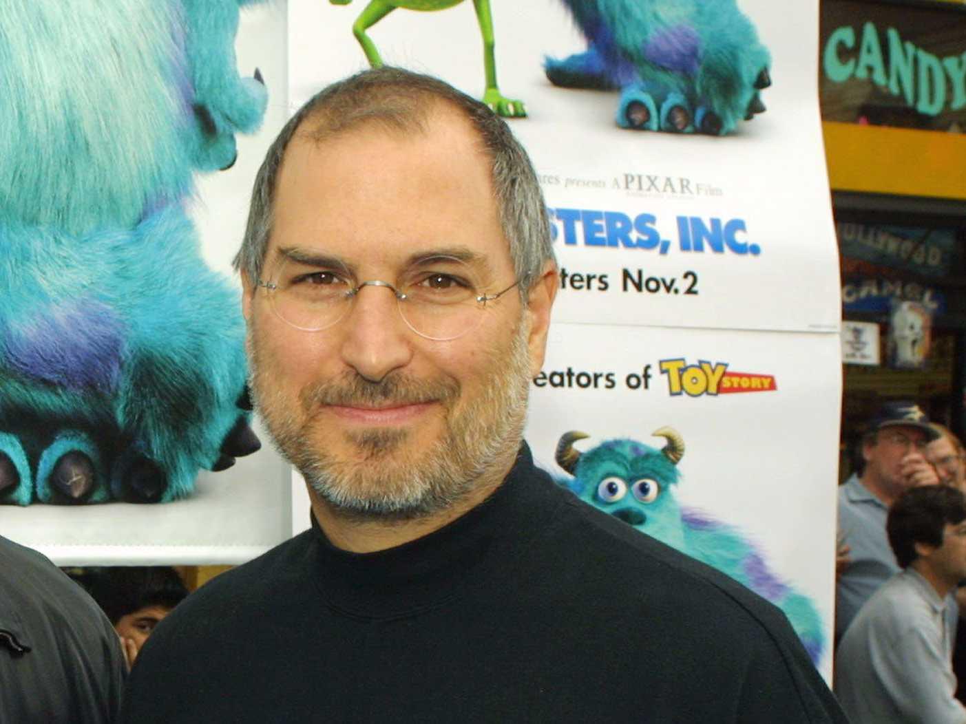 Steve Jobs Pixar - iDevice.ro