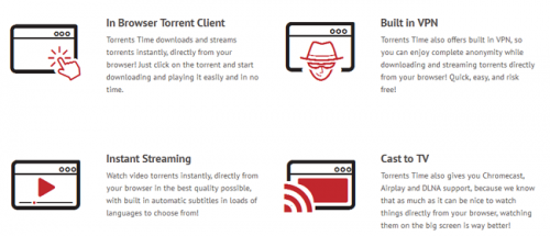 Torrents Time filme online