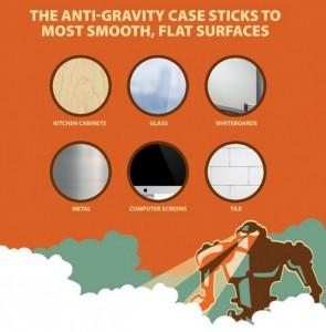 carcasa antigravitate iphone