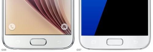 diferente Samsung Galaxy S7 Samsung Galaxy S6 2