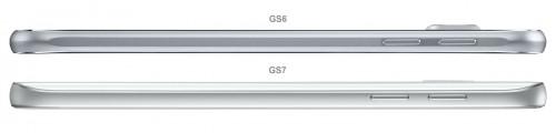 diferente Samsung Galaxy S7 Samsung Galaxy S6 3