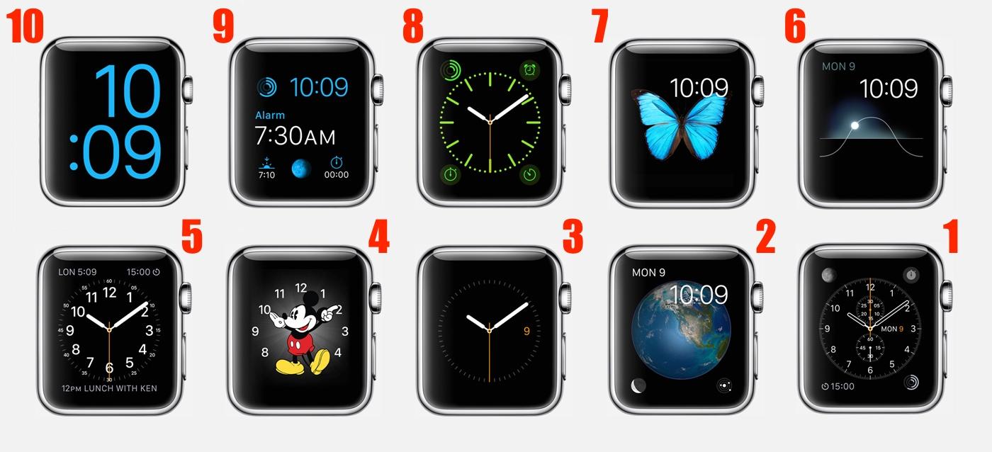 fetele Apple Watch